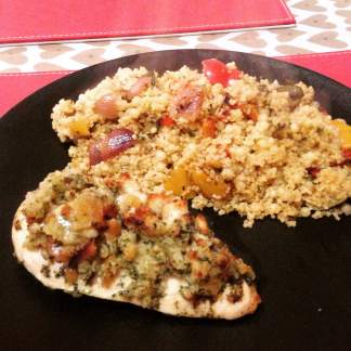 with couscous